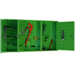 Подвесной шкаф металлический для мастерской