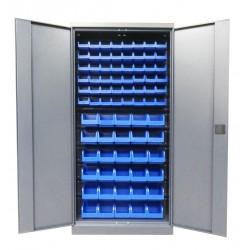 Метизный металлический шкаф для мастерской