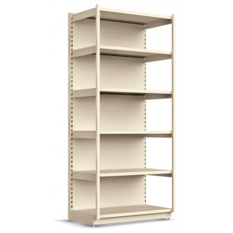 Double-sided shelves