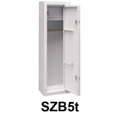 Metal cabinet for storage of weapons and ammunition