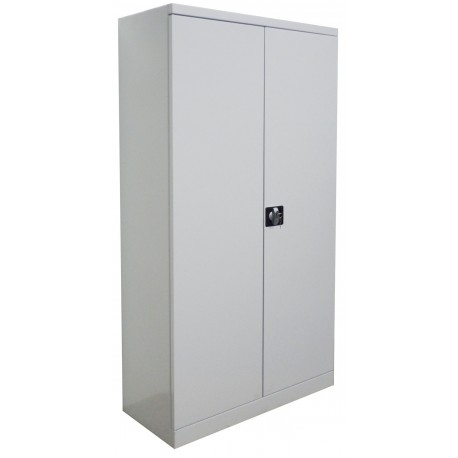 Metal cabinet for documents and clothing