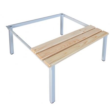 Скамейка-подставка под гардеробные шкафы SUM 320/SUS 322