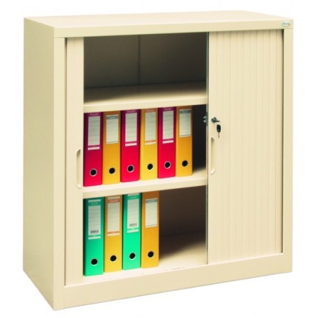 Cabinet for documents with jalousie's doors