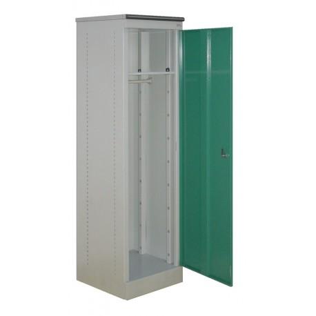 Металлический офисный шкаф для одежды