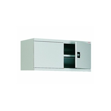 Antresol with a hinged door for the office of the metal cabinet.