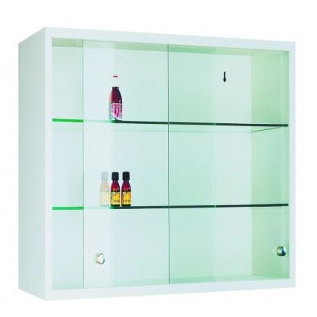 Металлический подвесной шкаф с передвижными дверьми