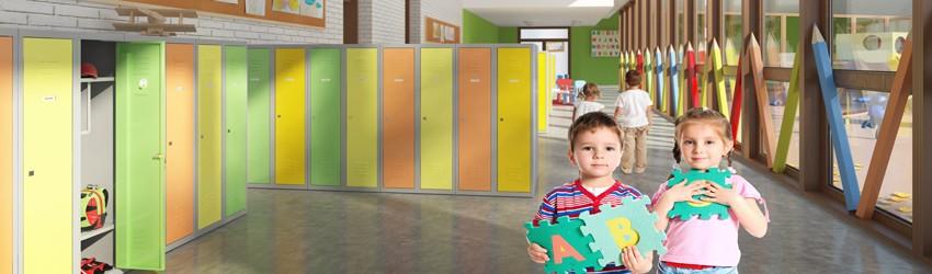 Детские шкафы, шкафы для детских учреждений