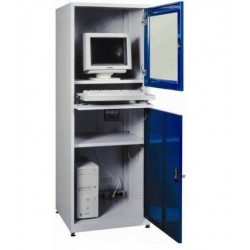 Metal cabinet for industrial computer
