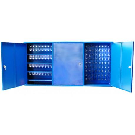 Hanging metal cabinet for workshop
