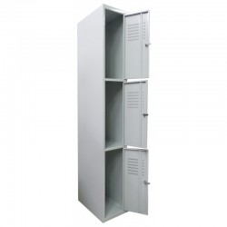 Double tier wardrobe locker