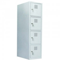4 tier locker (monoblock/welded construction)