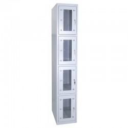 4 tier locker (monoblock/welded construction)