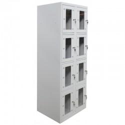 Ячеечный шкаф металлический (камера хранения) на 8 отделений