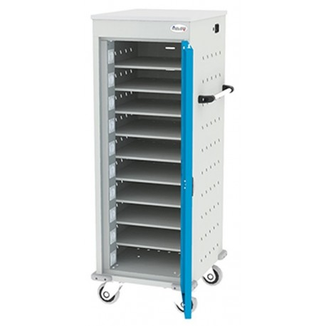 Mobile cabinet for laptop storage
