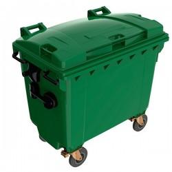 Пластиковый мусорный контейнер 1100 л