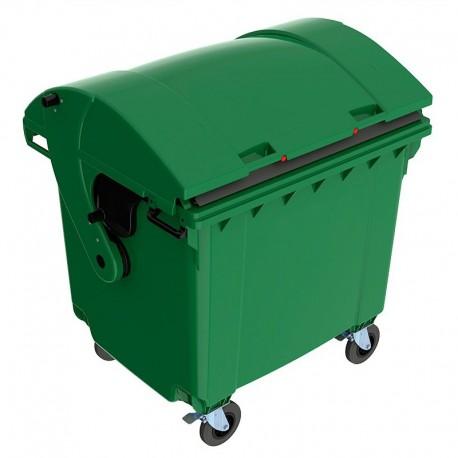 Пластиковый мусорный контейнер SULO на 1100 л