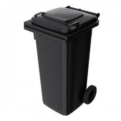 Пластиковый мусорный контейнер 120 л