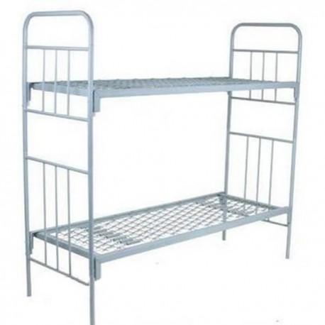 Кровати двухъярусные армейские металлические