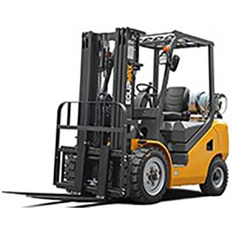 Навантажувач вилковий (газ) (2000 кг, підйом 4500 мм)