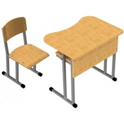 Комплект одноместный (парта и стул)