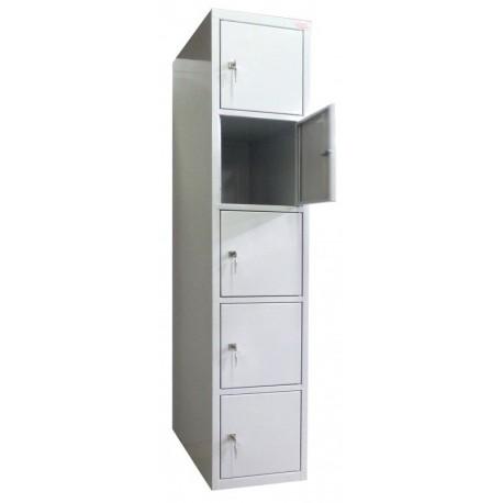 5 tier locker (monoblock/welded construction)