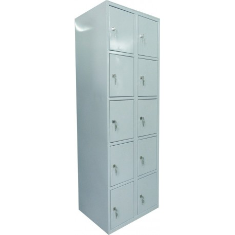 5 tier locker with 10 compartments