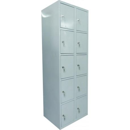 Металлический шкаф с ячейками для супермаркетов
