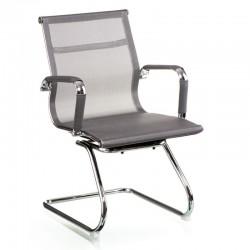 Кресло посетителя Solano office mesh grey