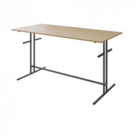 Стол для столовой с кронштейнами