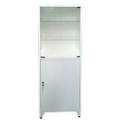 Одностворчатый металлический медицинский шкаф