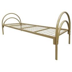 Ліжко одноярусне металеве