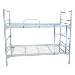 Ліжко двоярусне металеве