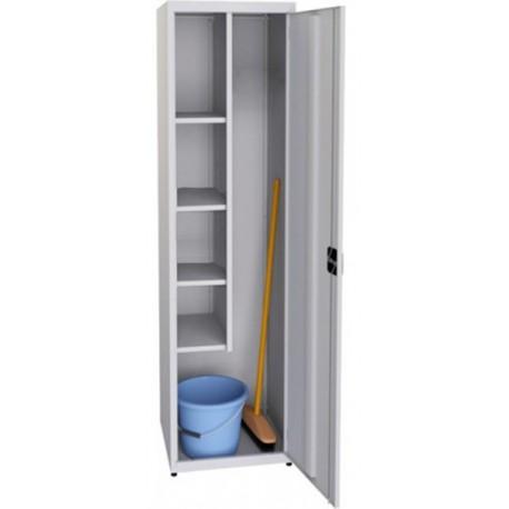 Металева господарська шафа для прибирального інвентарю SMD 52