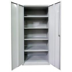 Хозяйственный металлический шкаф с полками SMD 80