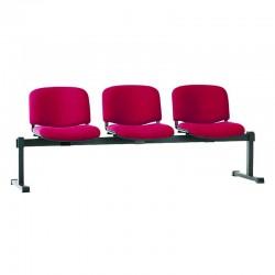 Стільці для зони очікування ISO-3 Z black