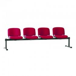 Стільці для зони очікування ISO-4 Z black