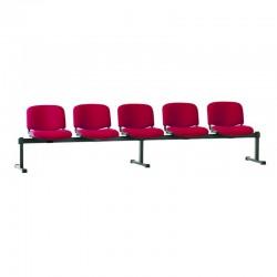 Стільці для зони очікування ISO-5 Z black