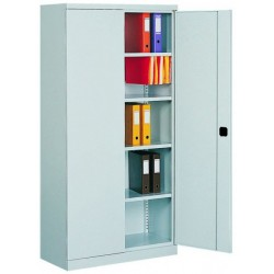 Cabinet for documents bivalve metal