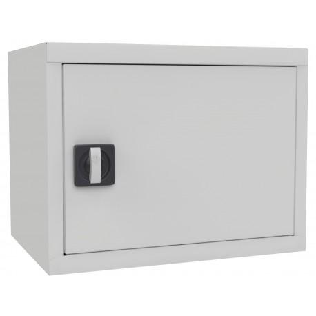 Антресоль зі стулковими дверима для офісної металевої шафи.