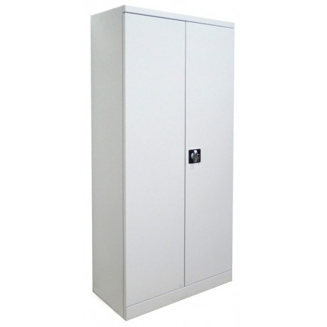 Office cabinet with double metal butterfly hiding place