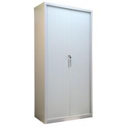 Металлический шкаф для документов с дверями типа жалюзи Sbm 208