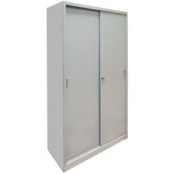 Cabinet for documents with metal door coupe