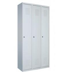 Гардеробный металлический шкаф Sum 430 б/п