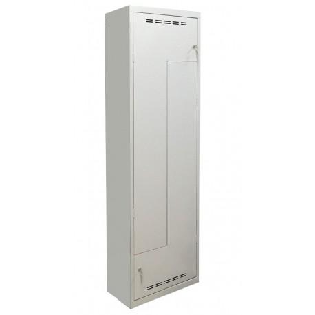 Металева гардеробна шафа з Г-подібними дверима Sul 41