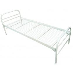 Ліжко одно'ярусне металеве