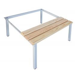 Скамейка-подставка под гардеробные шкафы P
