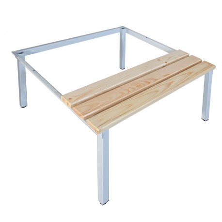 Bench-stand for wardrobe locker SUM 320/SUS 322