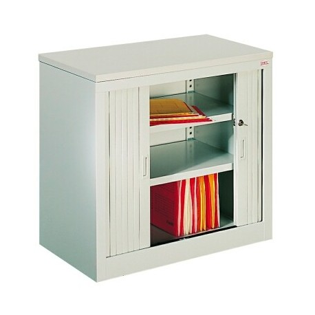 Metal cabinet, a desk stand to a height of 740mm