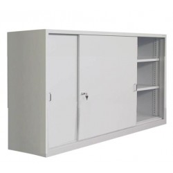 Cabinet for documents with doors coupe