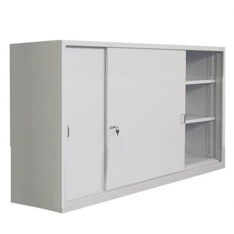 Шафа для документів з дверима купе металева